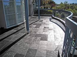 Tiling A Concrete Patio by Front Entry Decks Porcelain Stone Tile On Outdoor Decks Over