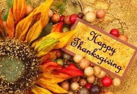 wishing everyone a happy thanksgiving