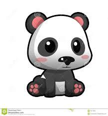cute cartoon panda stock photo image 48745845