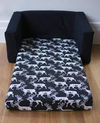 kids flip out sofa kids flip out sofa cover white deer on black print with your choice