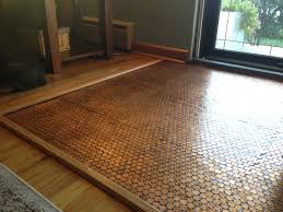 uncategorized how to make floor out of real pennies with penny