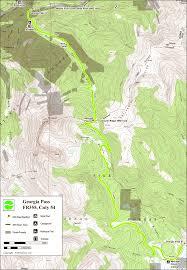 Georgia Road Map 4x4explore Com Georgia Pass