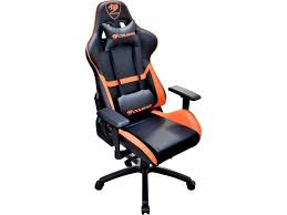 Cheapest Gaming Chair Cougar Armor Gaming Chair Black And Orange Newegg Com