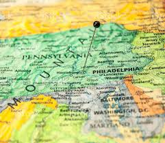 Road Map Of Pennsylvania by Macro Road Map Of Philadelphia Pennsylvania And Surrounding States