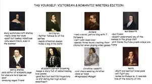 Annoyed Meme Tumblr - tag yourself meme victorian and romantic writer edition british