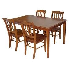 Shaker Dining Room Furniture Shaker Dining Table Wood Brown Boraam Target