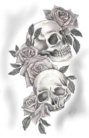 skulls and roses by snakeeatercdshop on deviantart