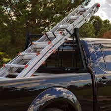 nissan frontier bed rack adjustable aluminum headache rack by apex pickup truck racks