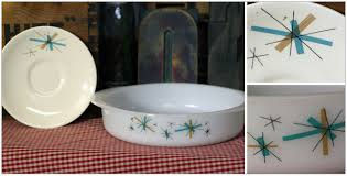 color inspiration vintage dishes from blue carrot shop