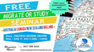 New Zealand And Australia Map Free Seminar Study And Work Or Migrate To Australia Canada New