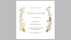 dinner invitation dinner party invitation sle 39 printable dinner invitation