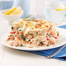cuisine crevette lasagne au saumon et crevettes recettes cuisine et nutrition
