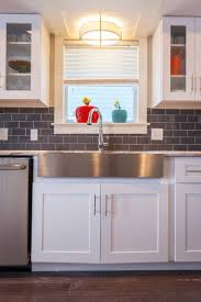 Kitchen Sinks Stainless Steel Best 20 Stainless Farmhouse Sink Ideas On Pinterest Deep