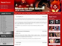 free games website templates 20 free css