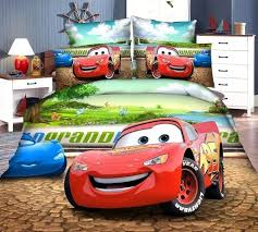 3d mcqueen car covers bedding set single size baby boy s