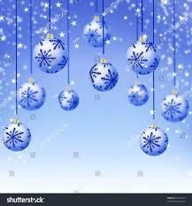 best christmas tree balls on light stock illustration 21618724