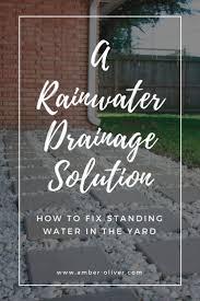 the 25 best rainwater drainage ideas on pinterest rain