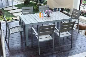 elegant plastic outdoor dining set plastic patio table quotes
