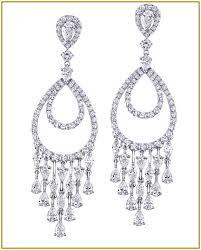 diamond chandelier earrings diamond chandelier earrings home design ideas