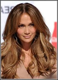 jlo hair color dark hair jennifer lopez light brown hair ombr balayage color melting