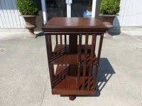 Danner Revolving Bookcase Antiques By Design Limberts Arts Crafts Quarter Sawn Oak