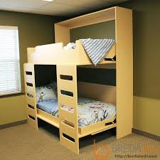Folding Bunk Bed Plans Outstanding Murphy Bunk Bed Stack Beds Bredabeds Www
