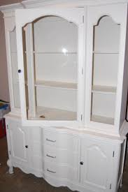 Kitchen Hutch Furniture Best 25 Refinished China Cabinet Ideas Only On Pinterest China