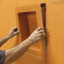 shop schluter systems schluter kerdi orange shower wall niche at