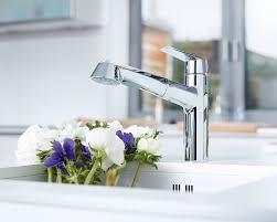 Grohe K7 Kitchen Faucet Grohe Eurodisc Single Handle Desk Mount Kitchen Faucet U0026 Reviews