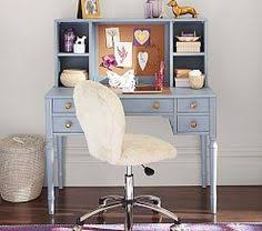 Girls White Desk With Hutch by Catalina Storage Desk U0026 Tall Hutch Pottery Barn Kids Ellie