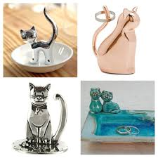 ceramic cat ring holder images Pawesome ring holders for cat lovers meowaf jpg