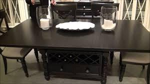 Beaufort House Rectangular Adjustable Height Dining Table In Dark - Adjustable height kitchen table