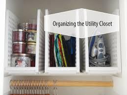 organizing the utility closet thrifting youtube