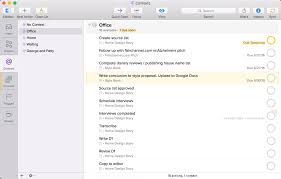home work and contexts inside omnifocus