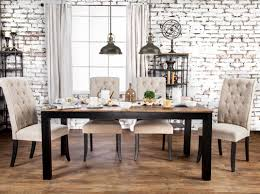 laurel foundry modern farmhouse artemps 7 piece dining set