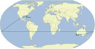 Flat Map Of The World September 2014 James U0027 Geo Blog