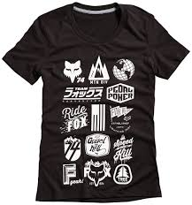 fox motocross fox fork protectors fox division tech t shirt t shirts u0026 tops