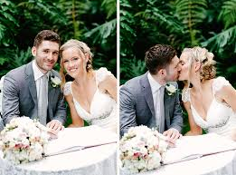 wedding signing jayne and brad wedding