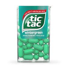 tic tac tic tac wintergreen flavour big pack american fizz