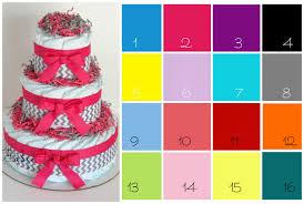chevron diaper cake chevron baby shower choose color