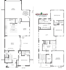 Single Family Floor Plans 3 Casavia Floor Plans New Homes In Pacific Highlands Ranch San Diego