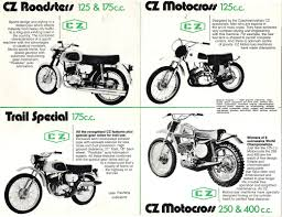 cz motocross bikes for sale jawa cz dave u0027s bike brochures