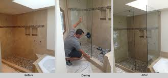 How To Install A Shower Door On A Bathtub Replacing A Cracked Glass Shower Door Plymouth Glass Mirror News