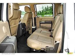 ford f250 seats 2011 ford f250 duty lariat crew cab 4x4 rear seat photo