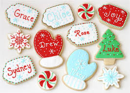 Christmas Cookie Decorating Kit Easy Decorated Christmas Cookies Christmas Lights Card And Decore