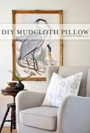 the painted hive easy diy mudcloth pillow ikea hack