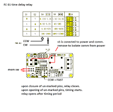 read chinese data sheet time delay relay fc 31
