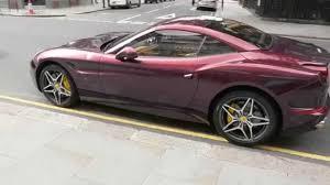 Ferrari California Colors - 2015 ferrari california instant colour changing must see