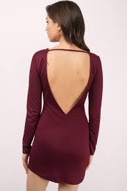 backless dress wine bodycon dress backless dress bodycon dress 13