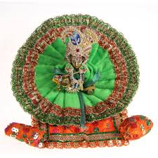 Indian Home Decor Online Shopping Buy Poshak Vastra Shringar Set For Bal Gopal Lord Krishna Thakorji